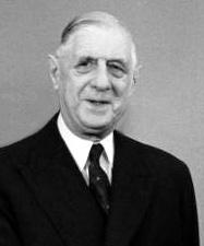 Der französische Staatspräsident Charles de Gaulle und Bundeskanzler Konrad Adenauer
